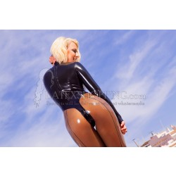 Latex Catsuit Transparent